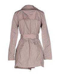 313 Tre Uno Tre - Pink Overcoat - Lyst