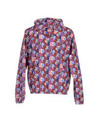 MSGM - Blue Jacket for Men - Lyst