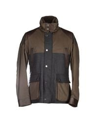 Henry Cotton's - Brown Jacket for Men - Lyst