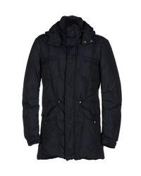 Ermanno Scervino - Black Down Jacket for Men - Lyst