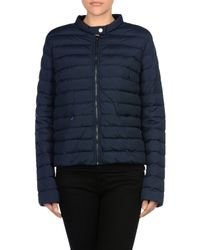 Sportmax Code - Blue Down Jacket - Lyst