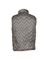 K-Way - Gray Down Jacket for Men - Lyst