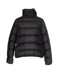 Moncler - Gray Down Jacket - Lyst