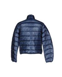 Aspesi - Blue Slim-Fit Chambray Blazer for Men - Lyst