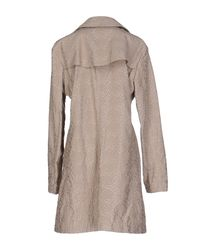 Vivienne Westwood Anglomania - Gray Full-length Jacket - Lyst