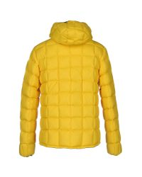 K-Way | Yellow Down Jacket for Men | Lyst