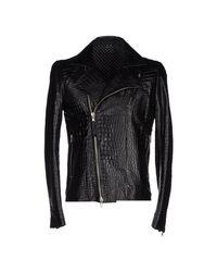 Daniele Alessandrini - Black Jacket for Men - Lyst