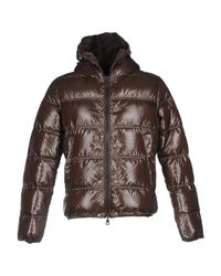 Duvetica | Brown Down Jacket for Men | Lyst