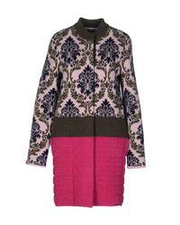 Mary Katrantzou | Pink Coat | Lyst