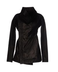 Rick Owens - Black Full-length Jacket - Lyst