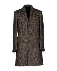 Lardini - Blue Coat for Men - Lyst