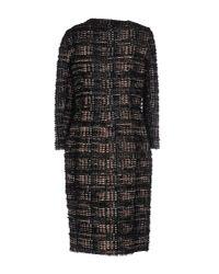 Giambattista Valli - - Wool-blend Tweed Coat - Black - Lyst