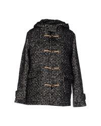 Leon & Harper - Black Coat - Lyst