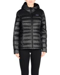 Patagonia - Black Down Jacket for Men - Lyst