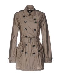 Burberry Brit | Multicolor Overcoat | Lyst