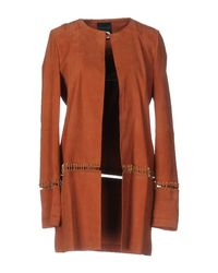 Hotel Particulier - Brown Overcoat - Lyst