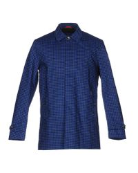Ben Sherman | Blue Overcoat for Men | Lyst