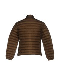 Peuterey - Green Down Jacket for Men - Lyst