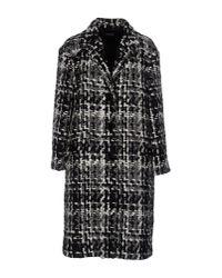 Dolce & Gabbana | Black Coat | Lyst