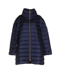 Save The Duck | Blue Jacket | Lyst