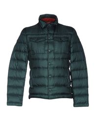 AT.P.CO | Green Down Jacket for Men | Lyst