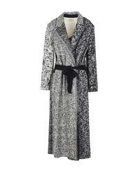 Forte Forte | Black Overcoat | Lyst