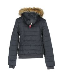 Superdry - Blue Jacket - Lyst
