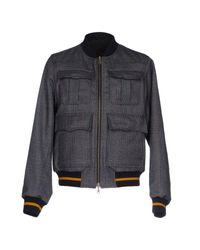 Dries Van Noten | Blue Jacket for Men | Lyst