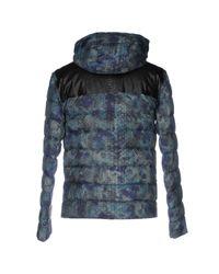 Roberto Cavalli - Blue Down Jacket for Men - Lyst