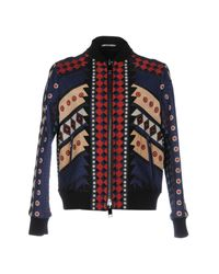 Valentino | Blue Jacket for Men | Lyst