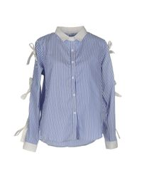 Care Of You - Blue Shirt - Lyst