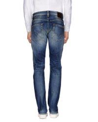Pepe Jeans - Blue Denim Trousers for Men - Lyst
