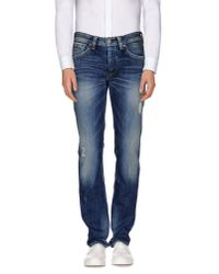 Pepe Jeans | Blue Denim Trousers for Men | Lyst