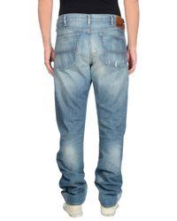 Denim & Supply Ralph Lauren - Blue Denim Trousers for Men - Lyst