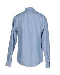 Gilded Age - Blue Denim Shirt for Men - Lyst