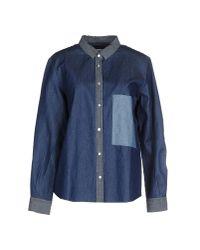Golden Goose Deluxe Brand - Blue Denim Shirt - Lyst