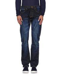 PRPS | Blue Denim Pants for Men | Lyst
