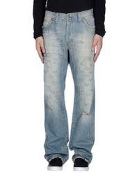 Jaggy | Blue Denim Trousers for Men | Lyst
