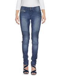 Rockstar | Blue Denim Pants | Lyst