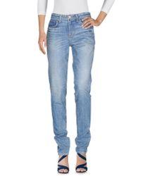 Textile Elizabeth and James | Blue Denim Pants | Lyst