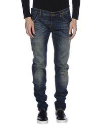 Dolce & Gabbana | Blue Denim Pants for Men | Lyst