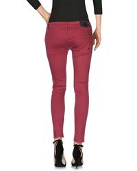 Volcom - Purple Denim Trousers - Lyst