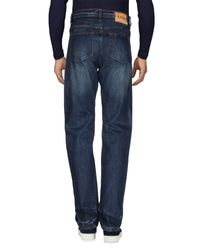Jaggy - Blue Denim Trousers for Men - Lyst
