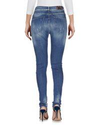 Ufficio 87 - Blue Denim Pants - Lyst