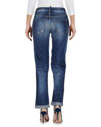 DSquared² - Blue Denim Trousers - Lyst