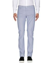 Moschino | Blue Casual Pants for Men | Lyst