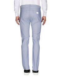 Moschino - Blue Casual Pants for Men - Lyst