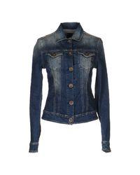 Replay - Blue Denim Outerwear - Lyst