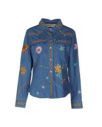 Blugirl Jeans - Blue Denim Shirt - Lyst