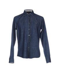 Smythson   Blue Denim Shirt for Men   Lyst
